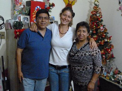 bolivian host family